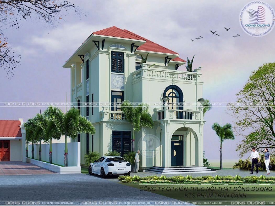 Biệt thự tân cổ điển theo lối kiến trúc Đông Dương-BT1737