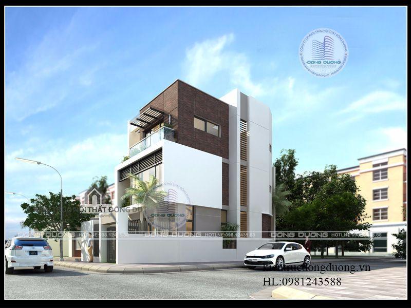 Nhà mặt phố 3 tầng hiện đại, thông thoáng - NP1742