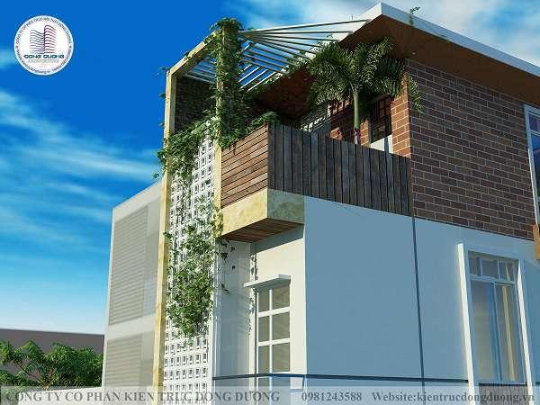 Nhà lô phố 3 tầng hai mặt tiền hiện đại diện tích 3m x 10m - NP1849