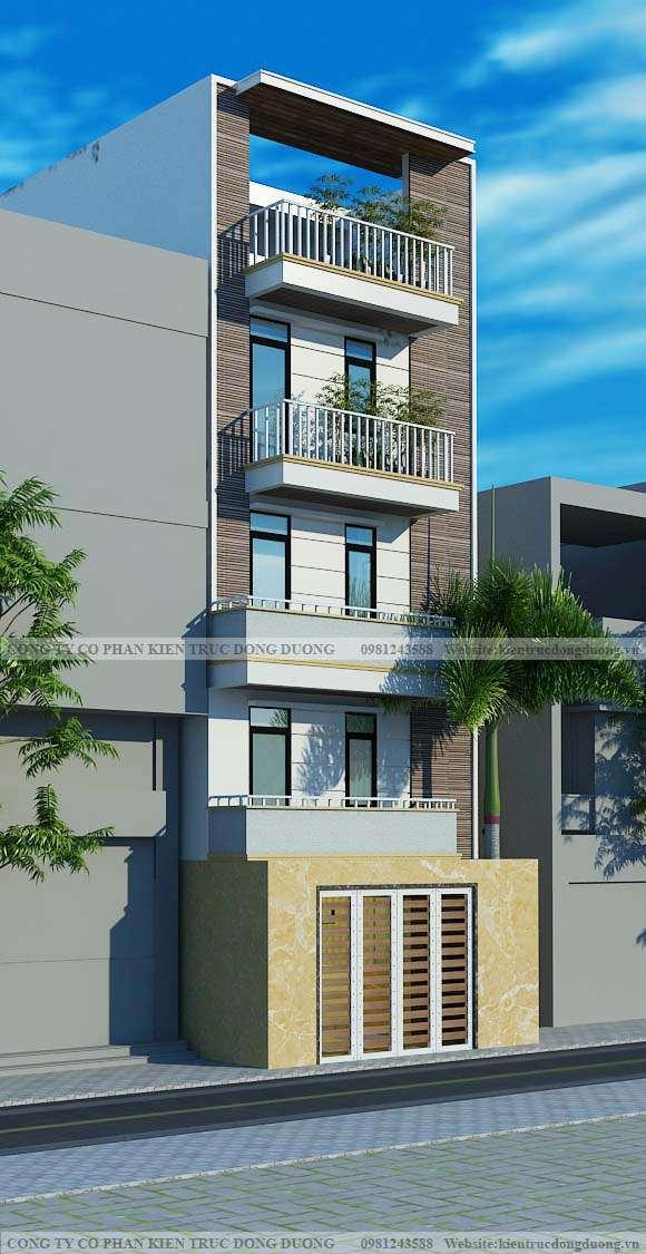 Thiết kế nhà ở kết hợp cho thuê phòng - NP1901