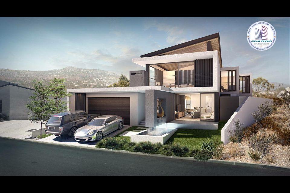 Tổng hợp mẫu biệt thự hiện đại 2 tầng đẹp sang trọng