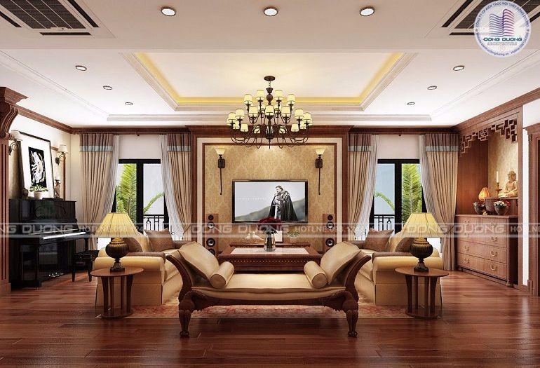 Thiết kế nội thất tân cổ điển cho căn hộ chung cư cao cấp - NT1711