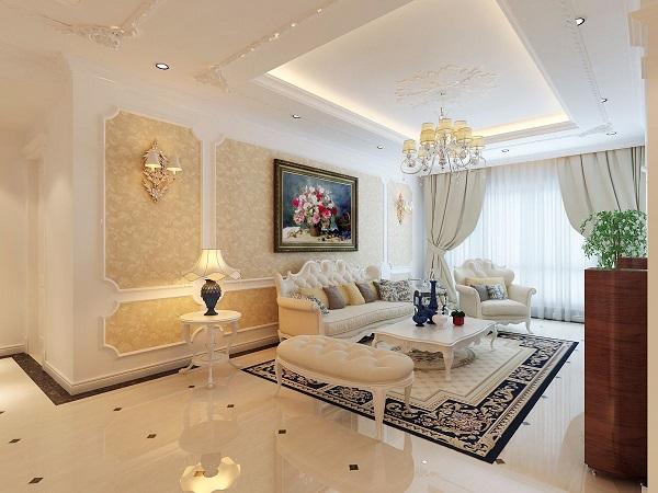 Thiết kế nội thất chung cư phong cách tân cổ điển sang trọng - NT1725